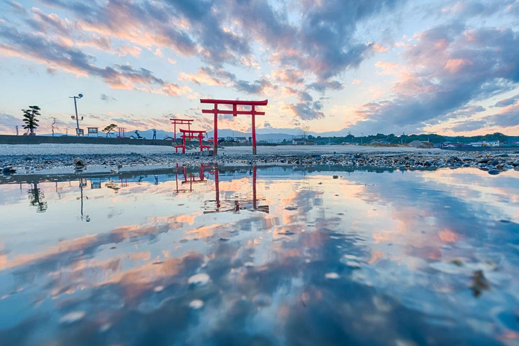 佐賀県 大魚神社海中鳥居
